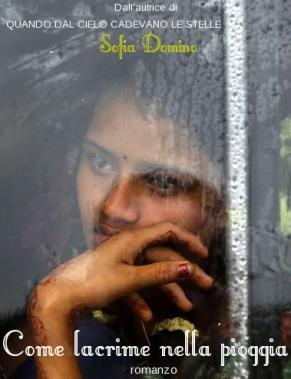 Come lacrime nella pioggia, Sofia Domino, copertina.