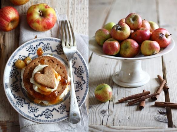 Apple pie per un nuovo blog, dalla cucina di FRAGOLE A MERENDA