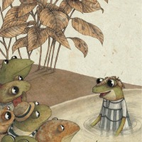 La regina delle rane - Davide Calì, Marco Somã